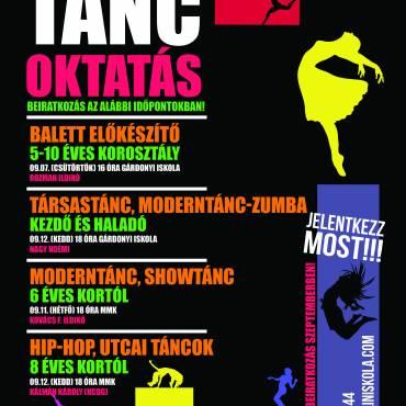 Táncoktatás Dunaújvárosban!